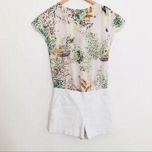 Ted Baker Romper Playsuit SZ 0